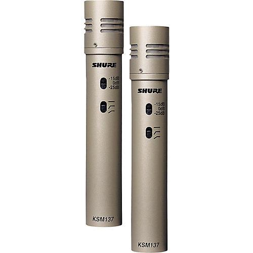 Shure KSM137/SL STEREO Cardioid Condenser (Stereo Pair) thumbnail