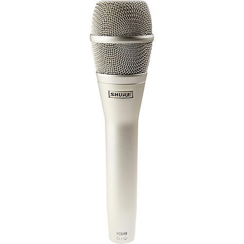 Shure KSM9 Dual Diaphragm Performance Condenser Microphone thumbnail