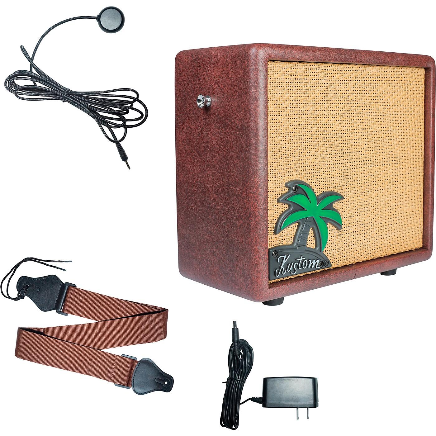 Kustom KUA10 10W 1x6 Ukulele Combo Amplifier with Pickup and Amp Strap thumbnail