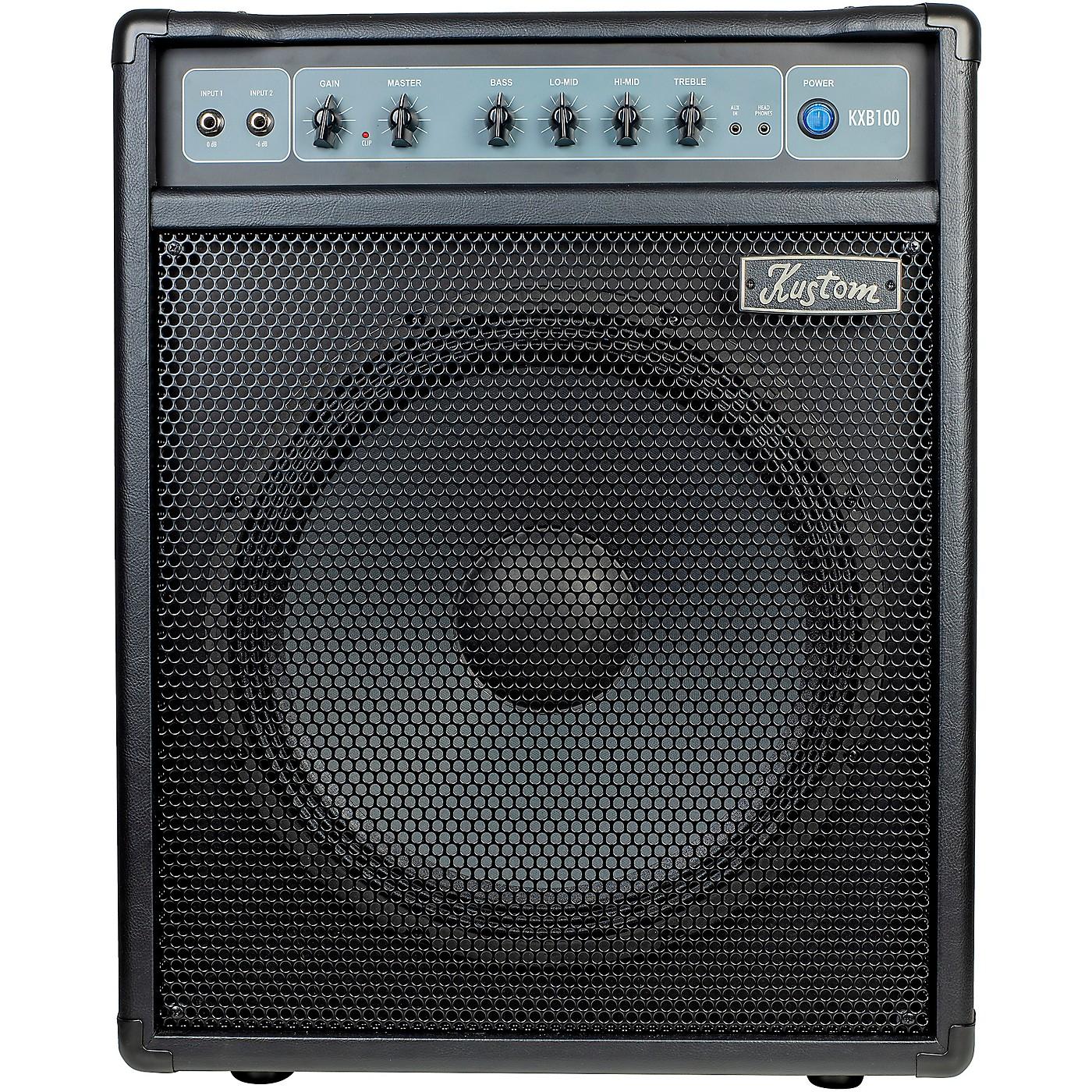 Kustom KXB100 100W 1x15 Bass Combo Amp thumbnail