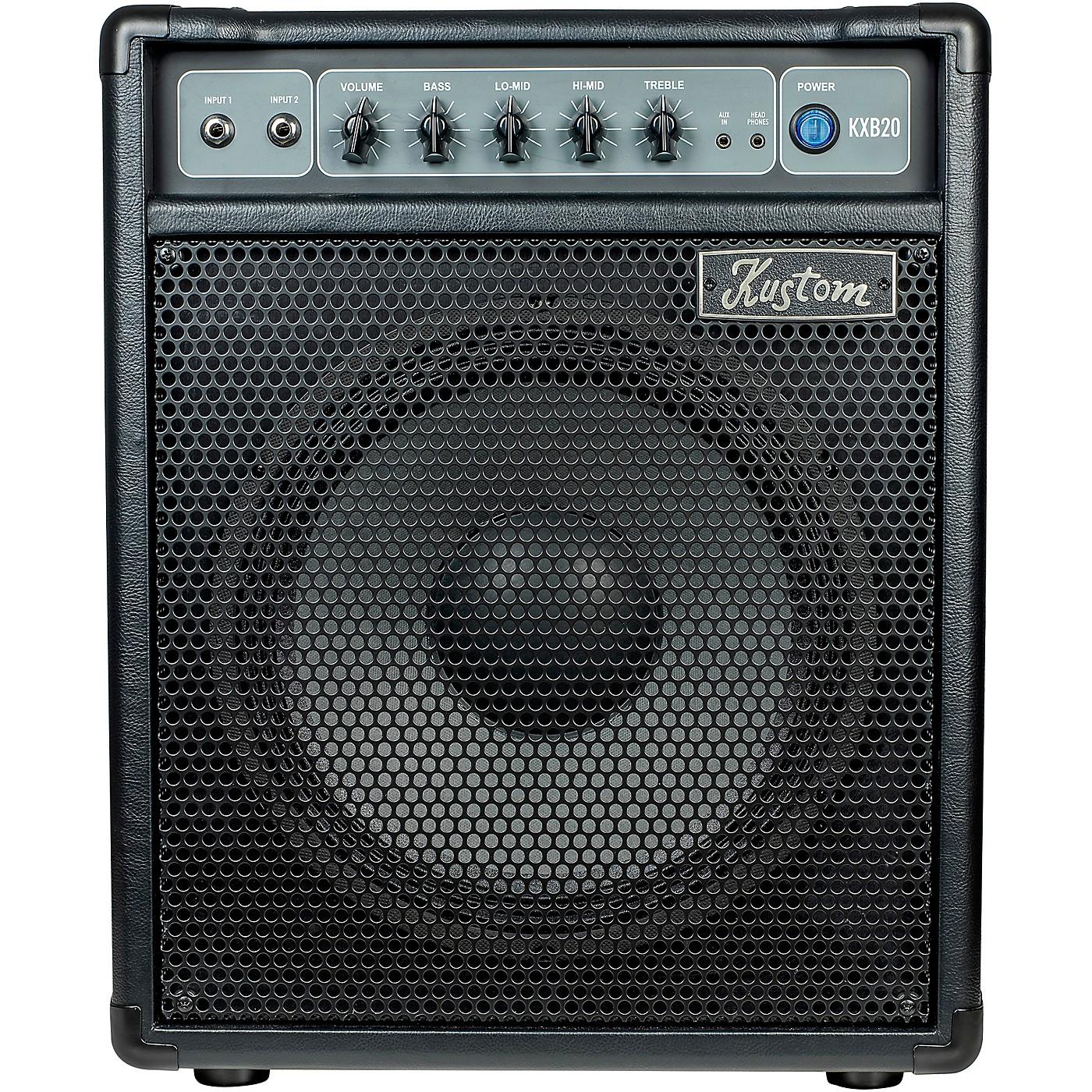 Kustom KXB20 20W 1x12 Bass Combo Amp thumbnail