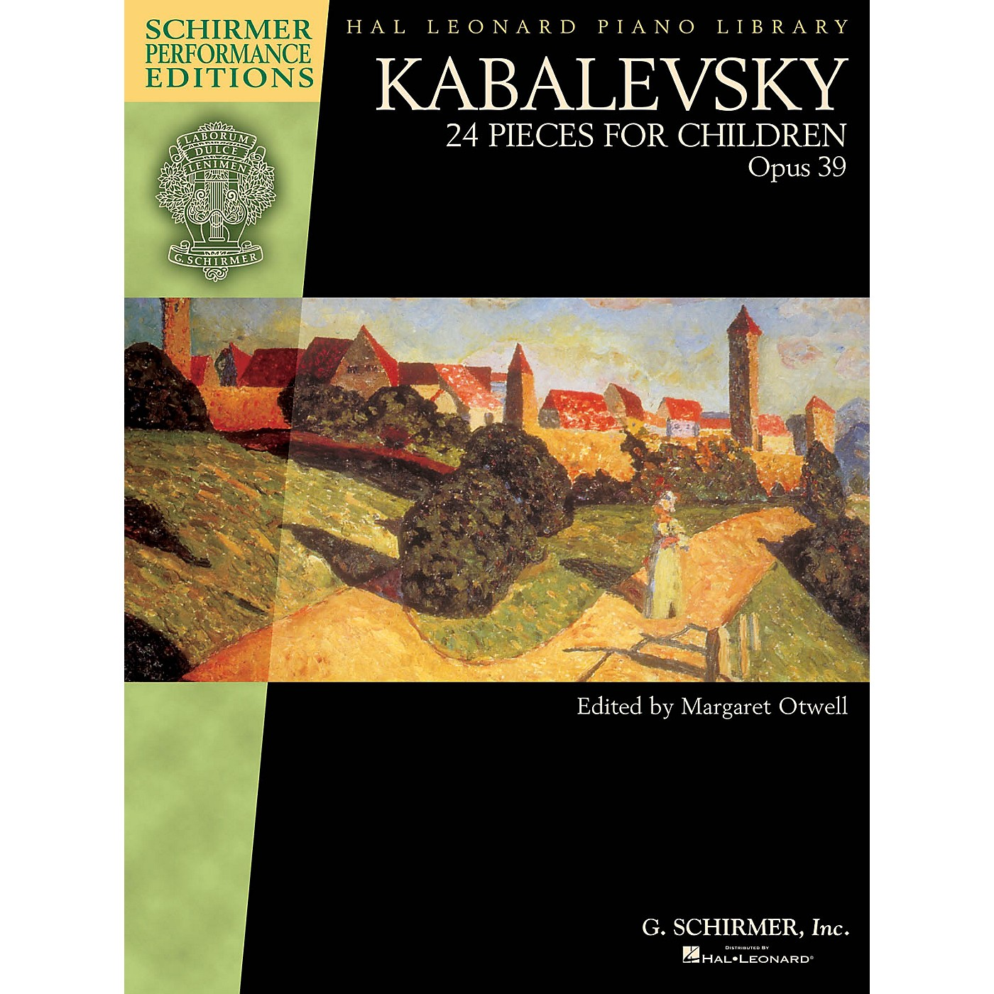 G. Schirmer Kabalevsky - 24 Pieces for Children, Opus 39 Schirmer Performance Editions by Kabalevsky Edited by Otwell thumbnail