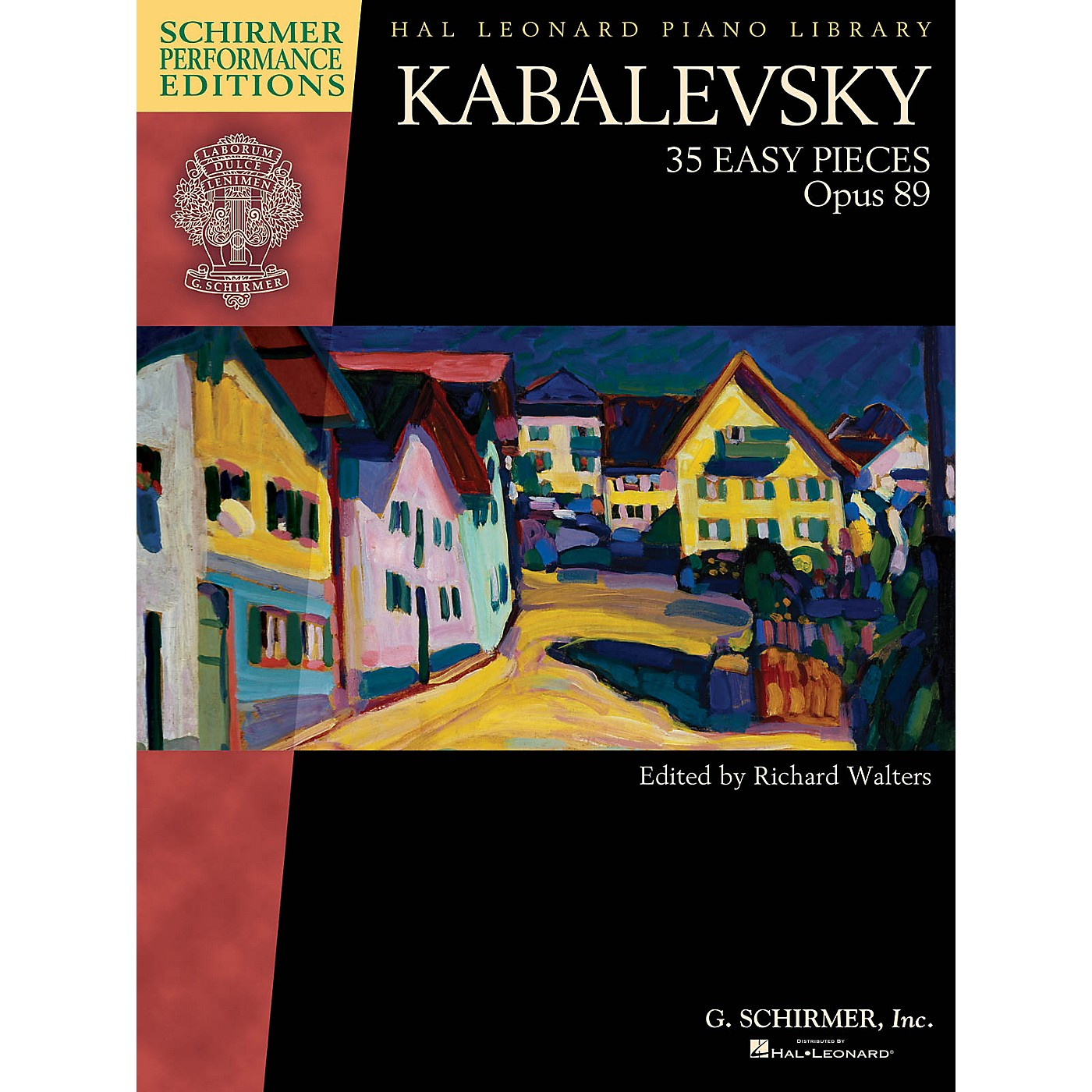 G. Schirmer Kabalevsky - 35 Easy Pieces, Op. 89 for Piano Schirmer Performance Editions Softcover thumbnail