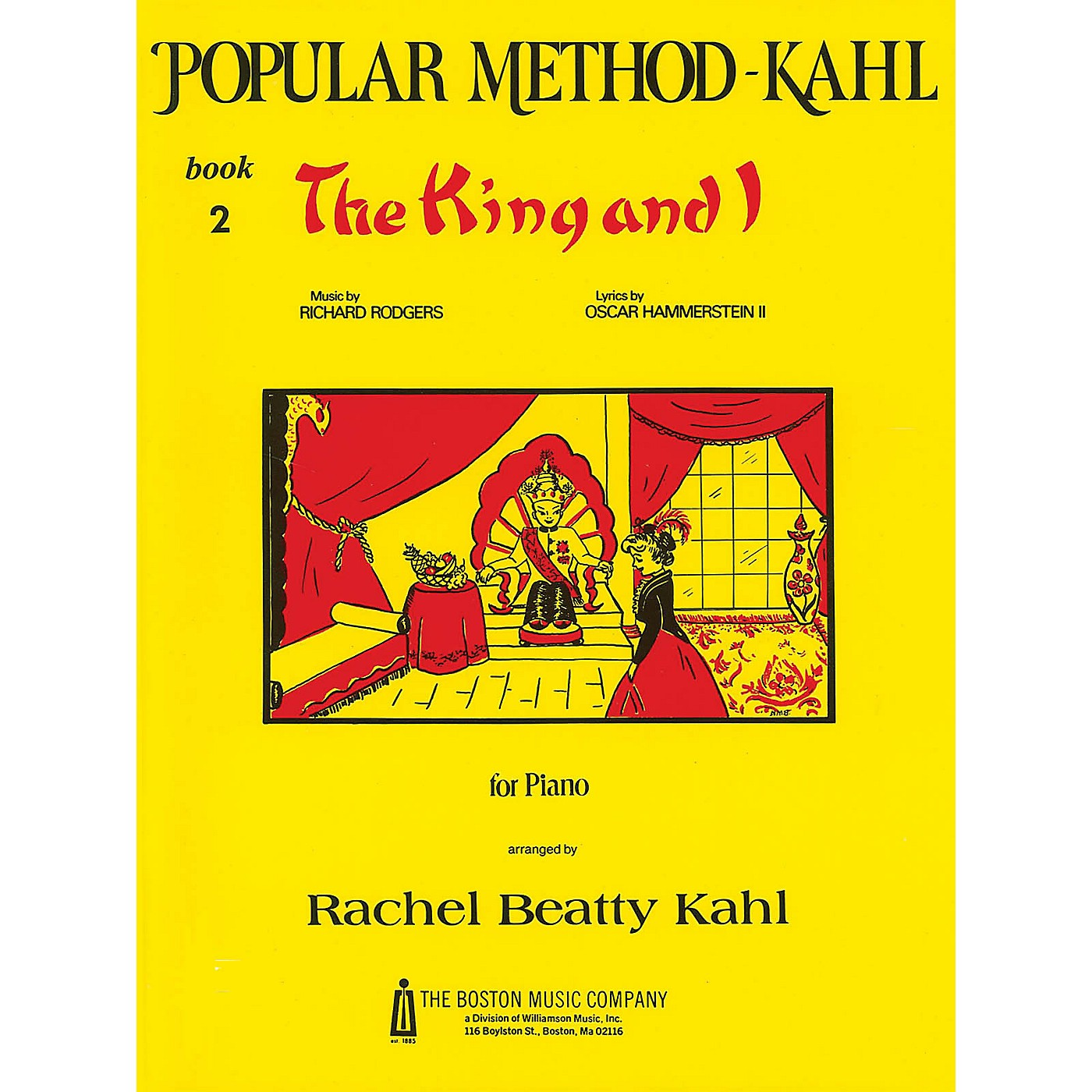 Music Sales Kahl Popular Method: Book 2 - The King and I Music Sales America Series Softcover by Richard Rodgers thumbnail
