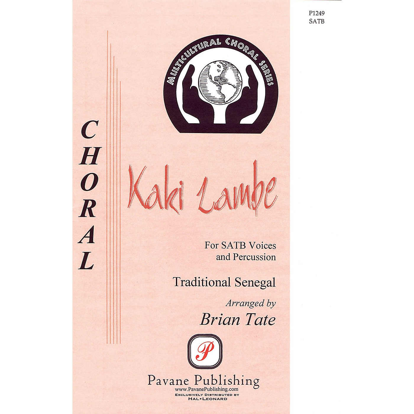 Pavane Kaki Lambe SATB arranged by Brian Tate thumbnail