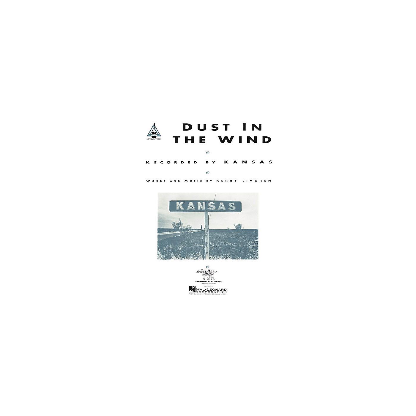 Hal Leonard Kansas: Dust in the Wind (Sheet Music) thumbnail
