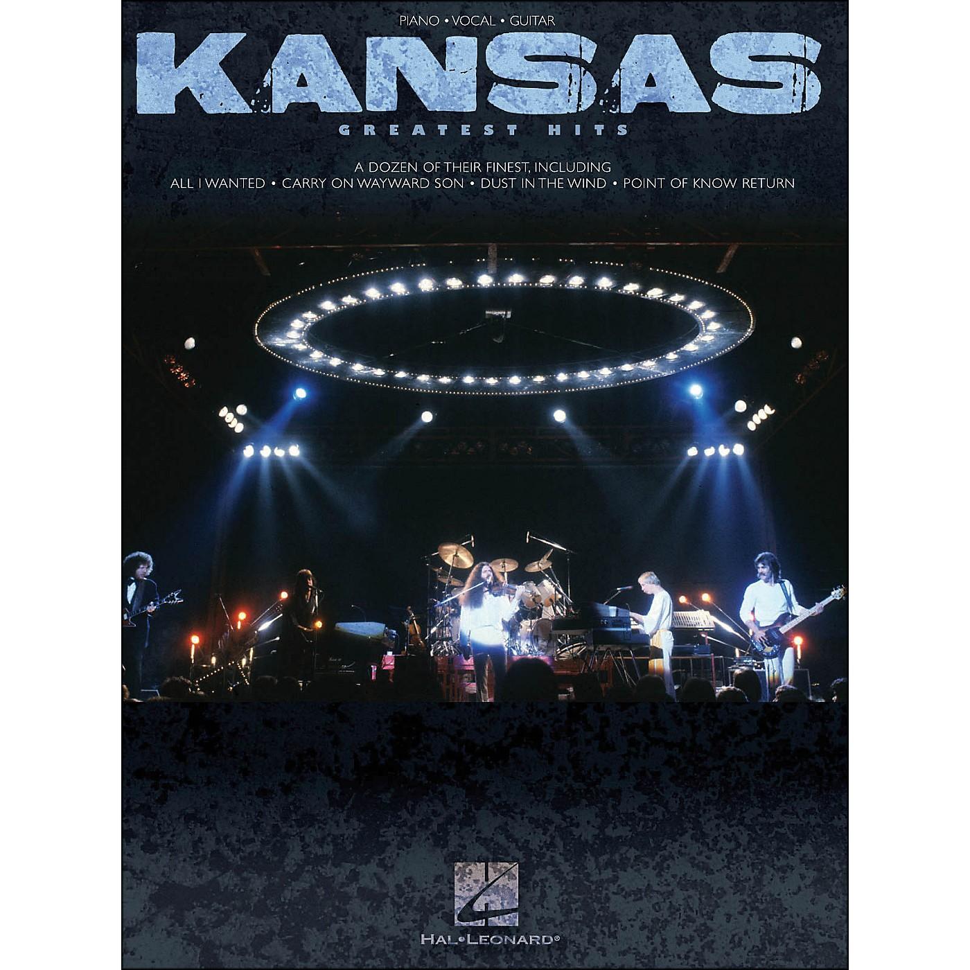 Hal Leonard Kansas Greatest Hits arranged for piano, vocal, and guitar (P/V/G) thumbnail