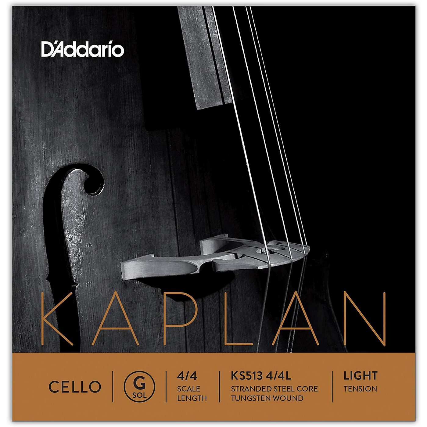 D'Addario Kaplan Series Cello G String thumbnail