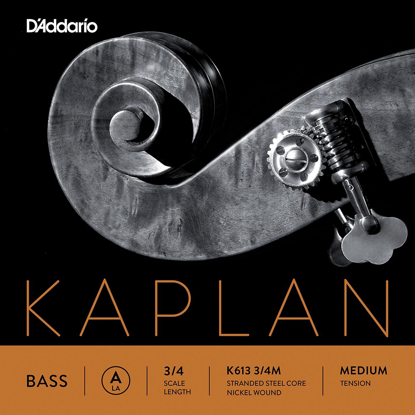 D'Addario Kaplan Series Double Bass A String thumbnail