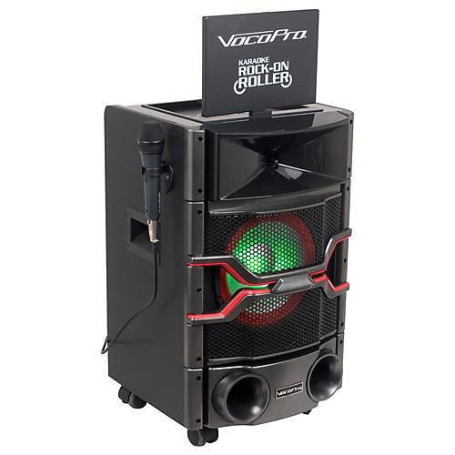 VocoPro Karaoke Rock-On-Roller DVD Karaoke System with 10