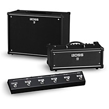 Boss Katana KTN-Head 100W Guitar Amplifier Head and 212 150W 2x12 Cabinet with GA-FC Foot Controller
