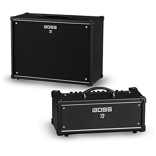 Boss Katana KTN-Head 100W Guitar Amplifier Head and 212 150W 2x12 Cabinet thumbnail