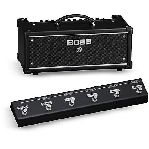 Boss Katana KTN-Head 100W Guitar Amplifier Head with GA-FC Foot Controller thumbnail