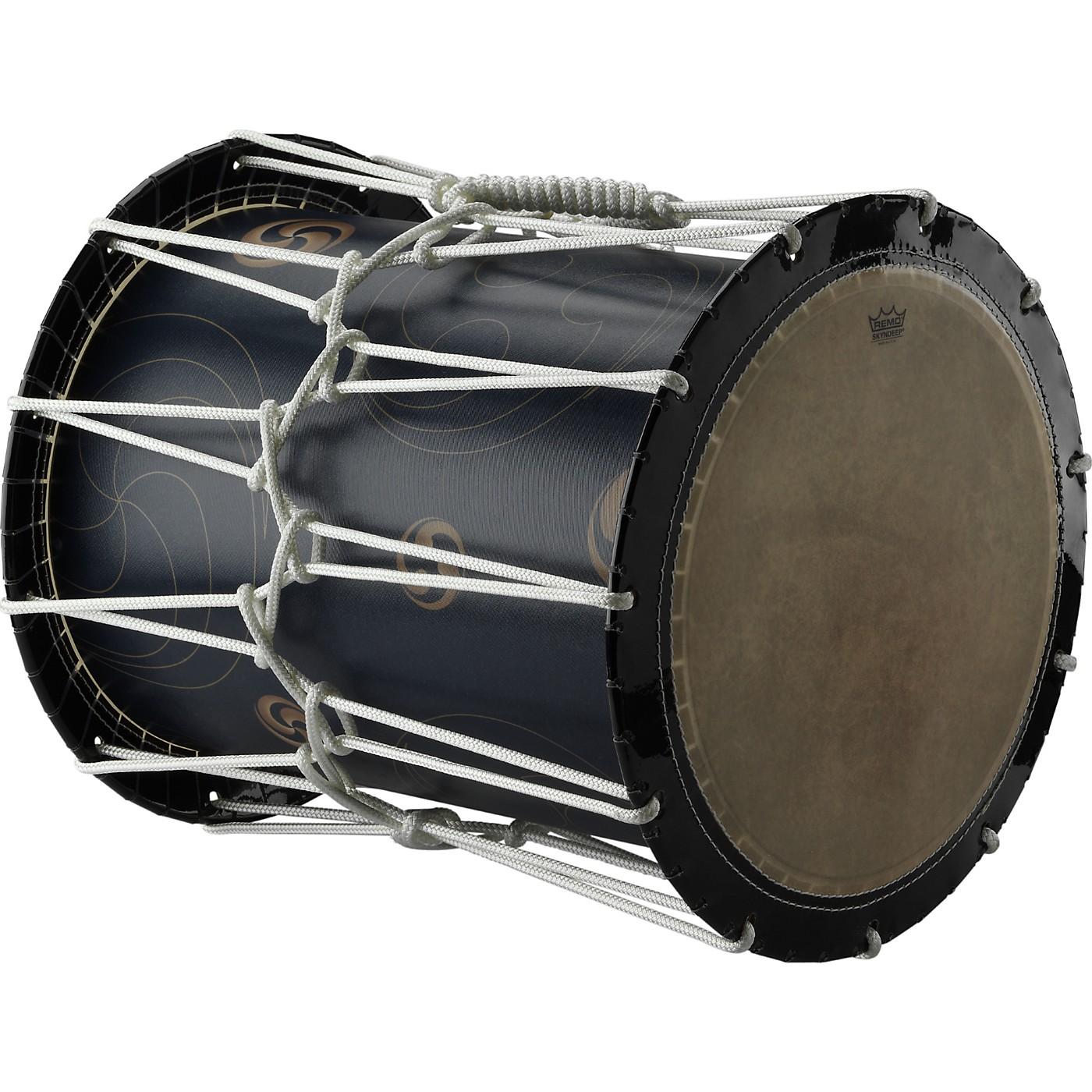 Remo Katsugi Okedaiko Rope-Tuned Drum with Bachi Sticks & Strap thumbnail