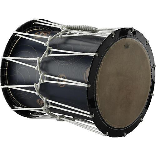 Remo Katsugi Okedaiko Rope-Tuned Drum with Bachi Sticks & Strap-thumbnail
