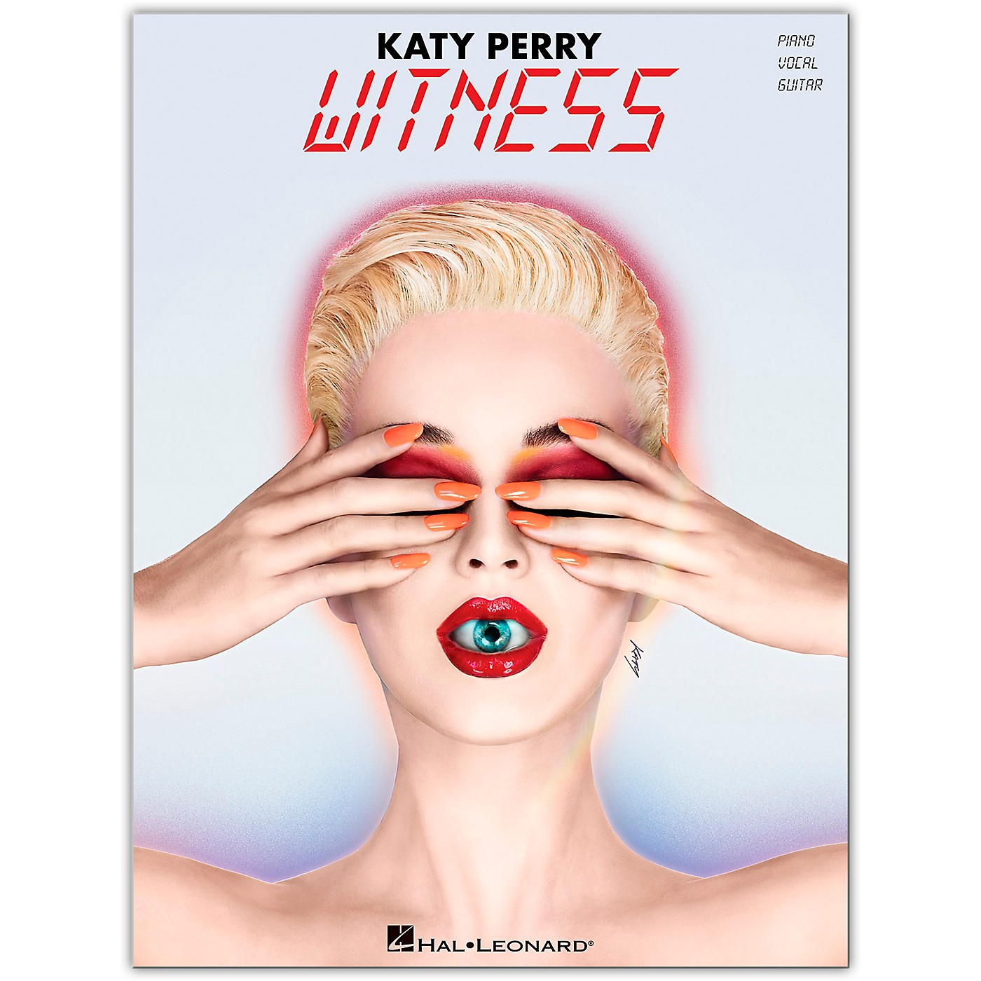 Hal Leonard Katy Perry - Witness Piano/Vocal/Guitar Songbook thumbnail