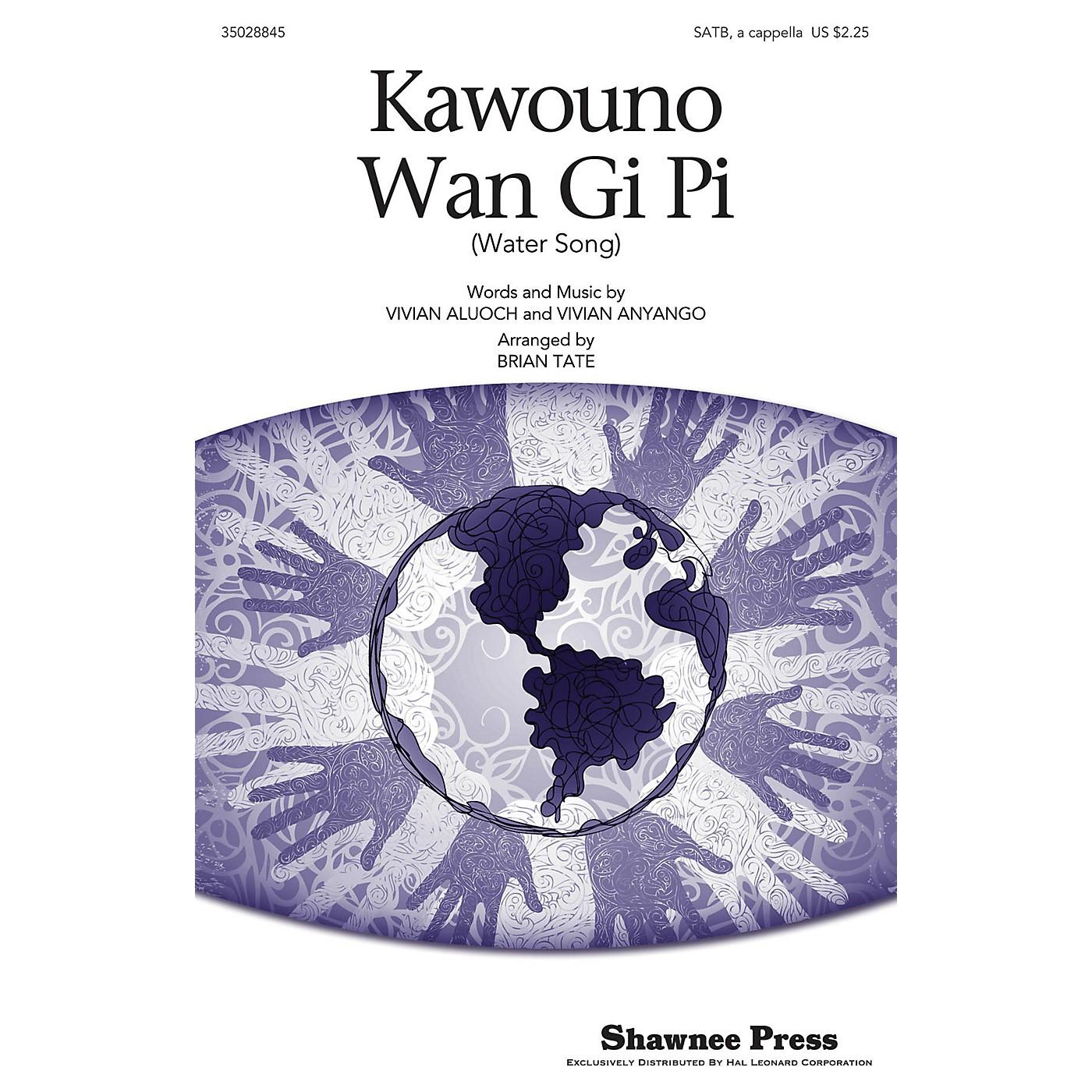 Shawnee Press Kawouno Wan Gi Pi SATB arranged by Brian Tate thumbnail