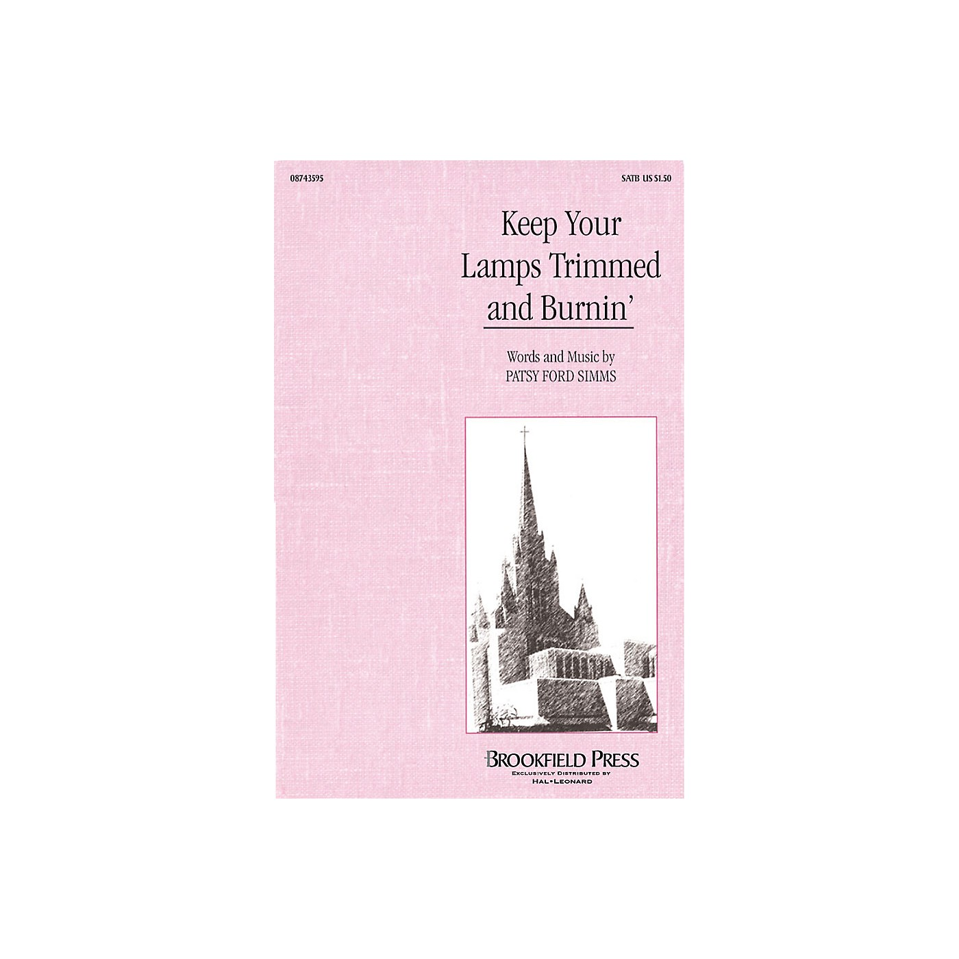 Hal Leonard Keep Your Lamps Trimmed and Burnin' SATB arranged by Patsy Ford Simms thumbnail