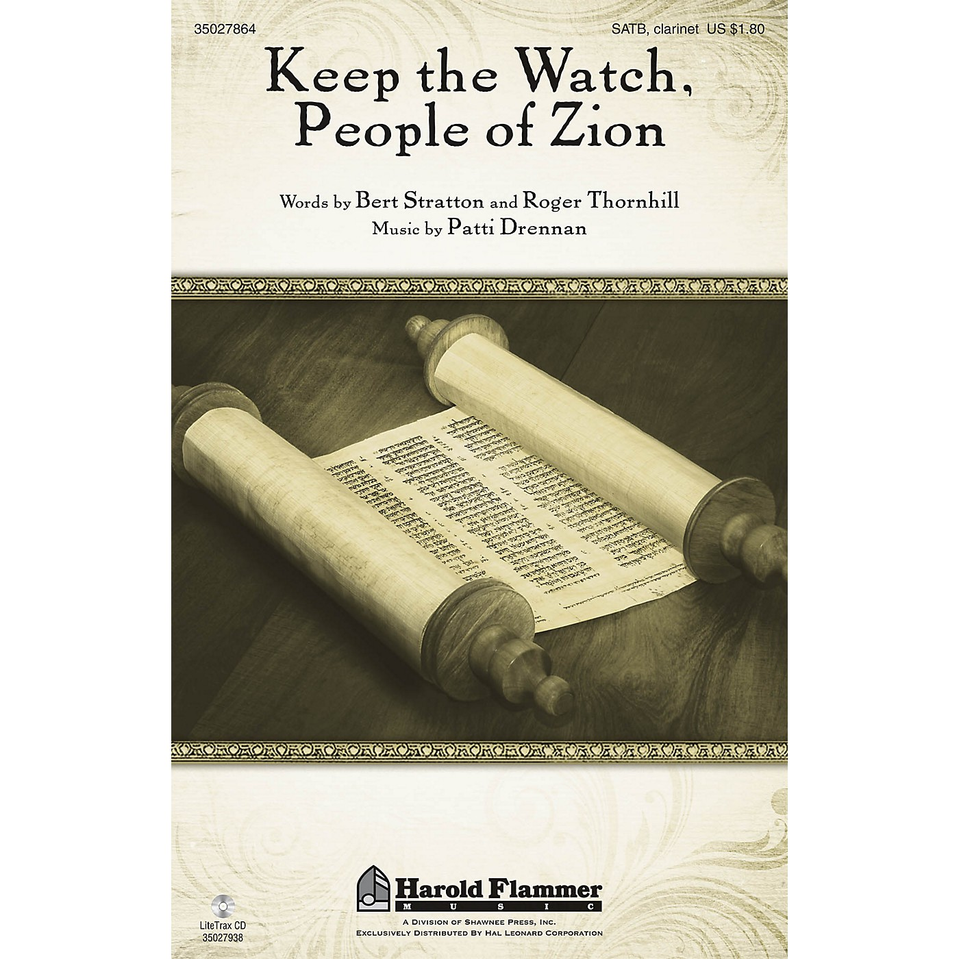 Shawnee Press Keep the Watch, People of Zion SATB composed by Patti Drennan thumbnail