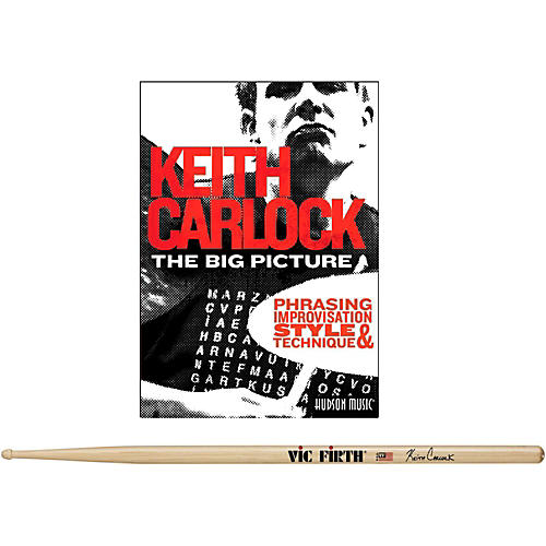 Hudson Music Keith Carlock Drumstick DVD Pack with Free Pair of Sticks-thumbnail