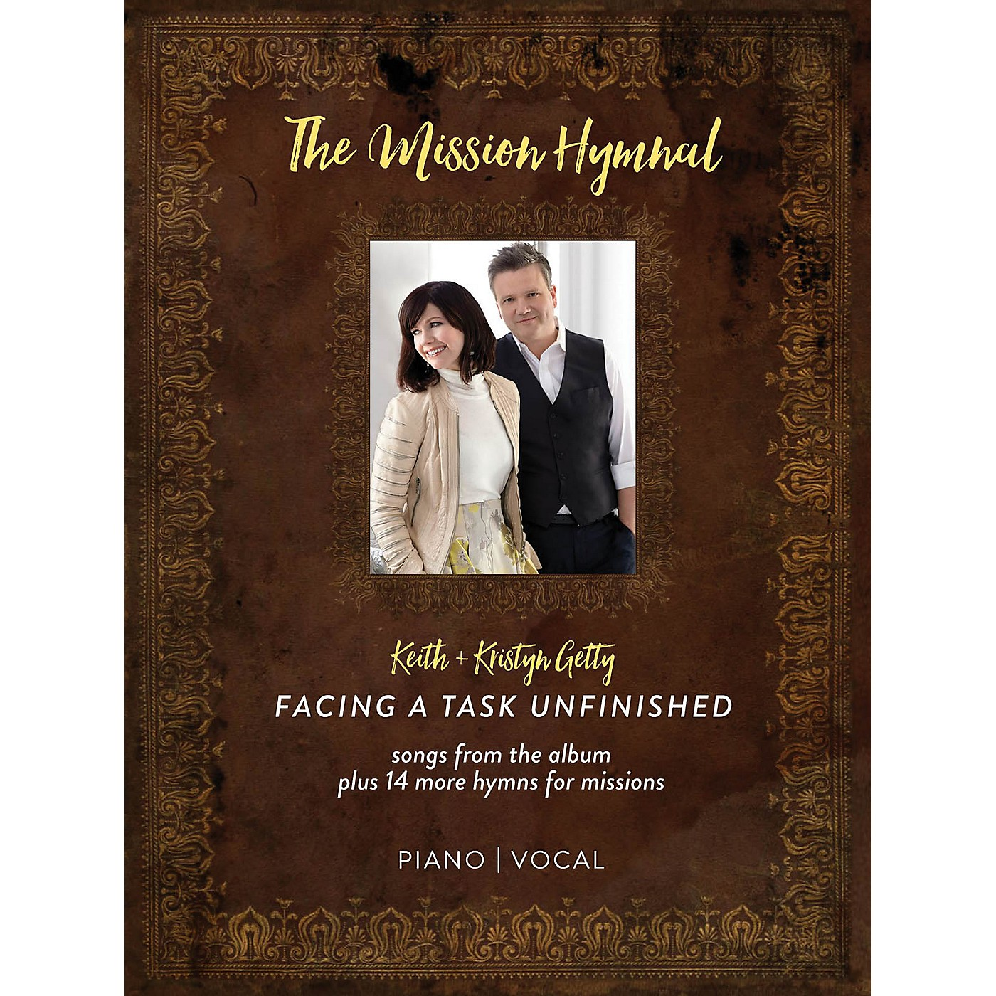 Hal Leonard Keith & Kristyn Getty - The Mission Hymnal: Facing a Task Unfinished Softcover by Keith Getty thumbnail