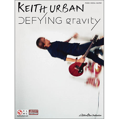 Cherry Lane Keith Urban - Defying Gravity arranged for piano, vocal, and guitar (P/V/G) thumbnail