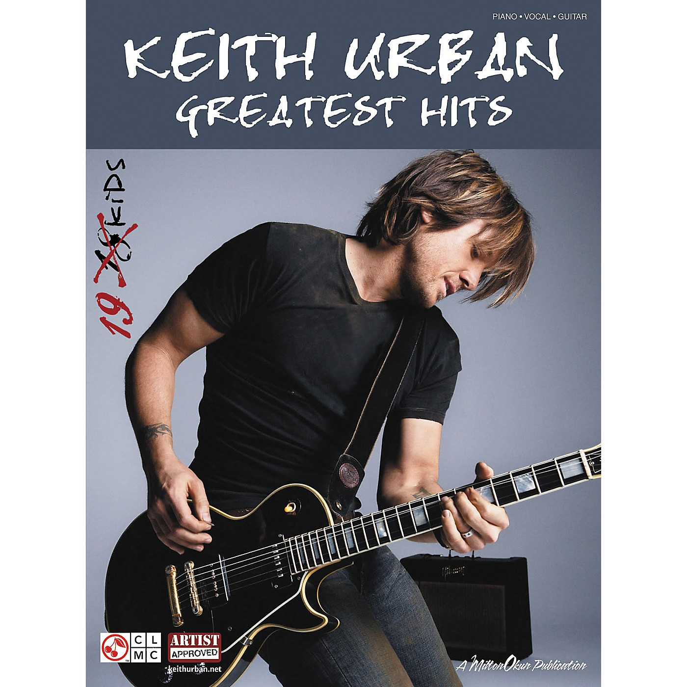 Cherry Lane Keith Urban: Greatest Hits (Piano/Vocal/Guitar Songbook) thumbnail