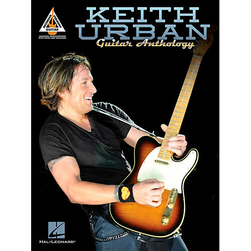 Hal Leonard Keith Urban Guitar Anthology TAB Songbook thumbnail