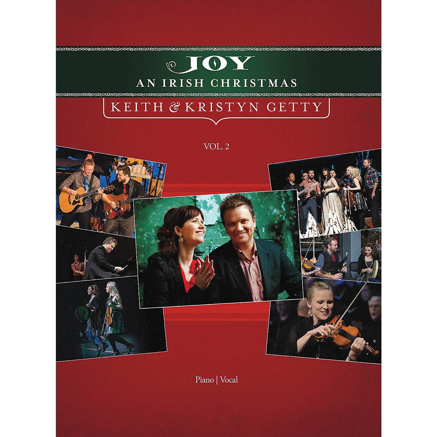 Hal Leonard Keith and Kristyn Getty - Joy: An Irish Christmas Volume 2 Sacred Folio Series by Keith and Kristyn Getty thumbnail