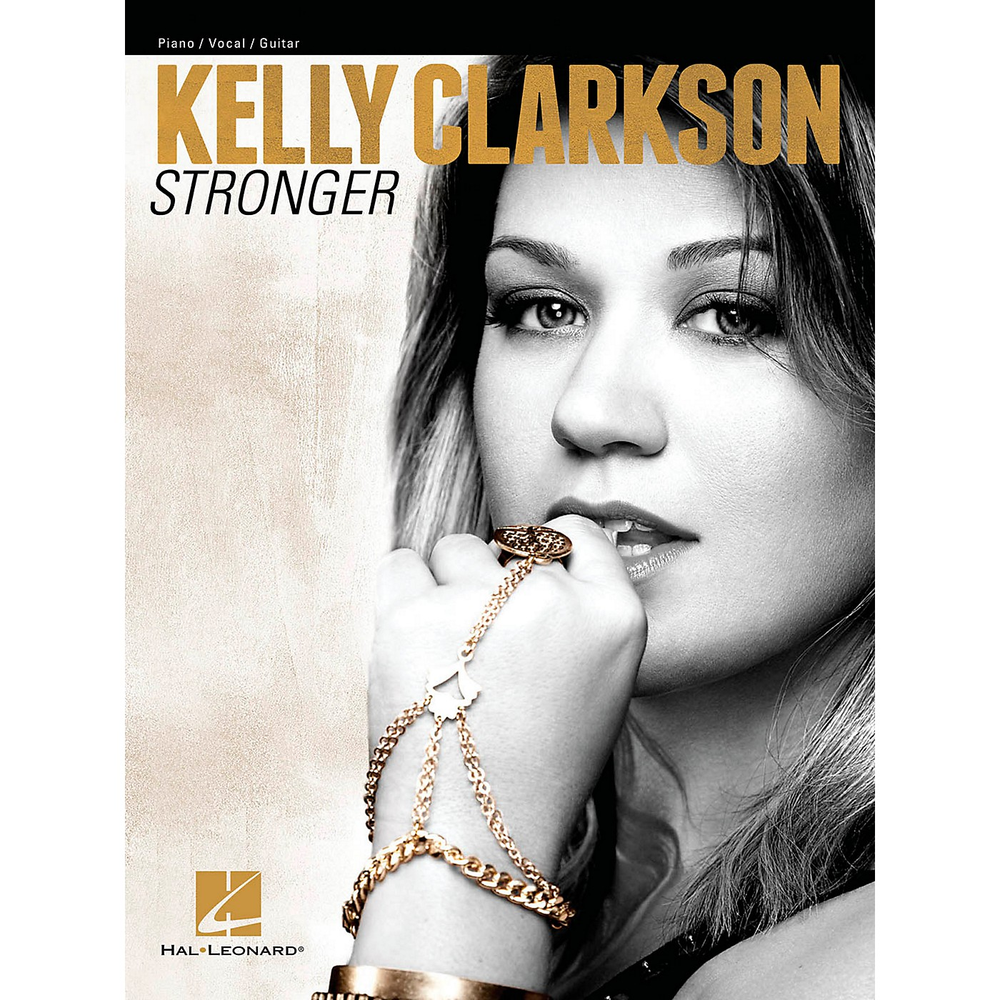 Hal Leonard Kelly Clarkson - Stronger for Piano/Vocal/Vocal PVG thumbnail