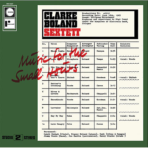 Alliance Kenny Clarke - Music for the Small Hours thumbnail