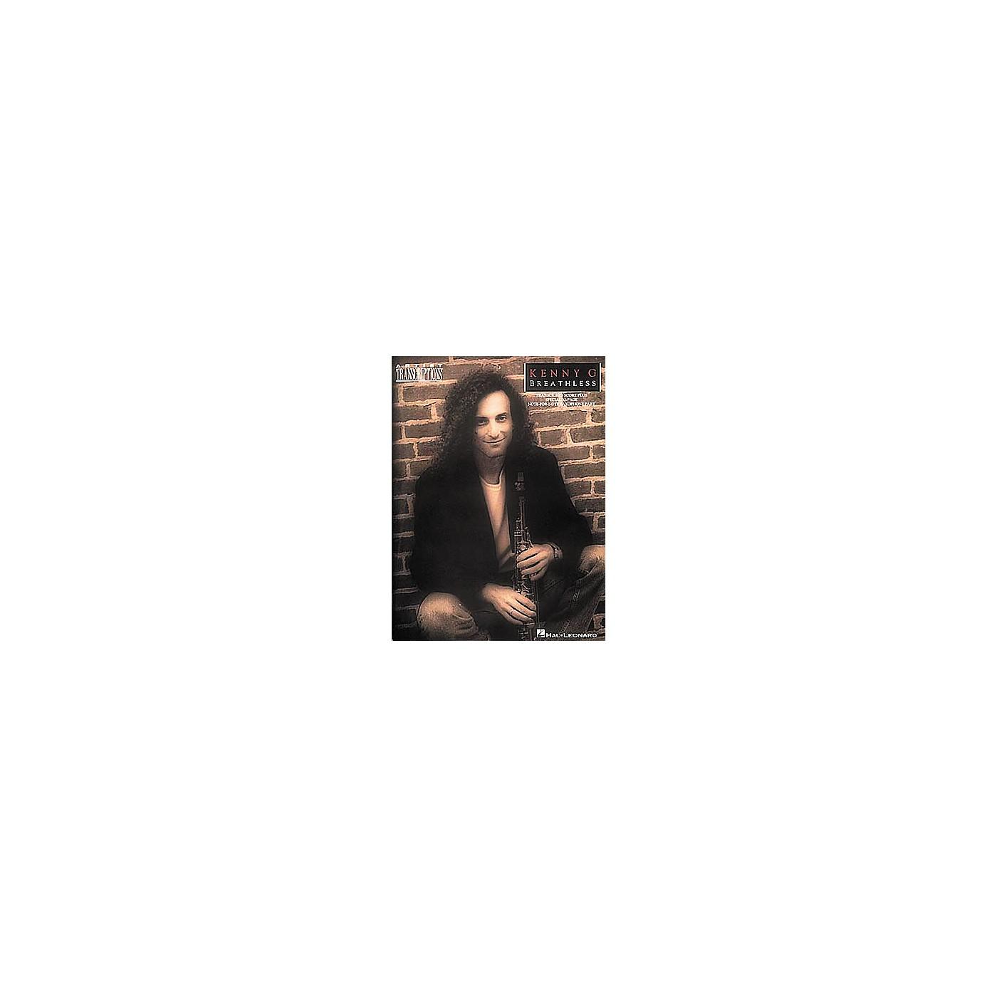 Hal Leonard Kenny G - Breathless thumbnail