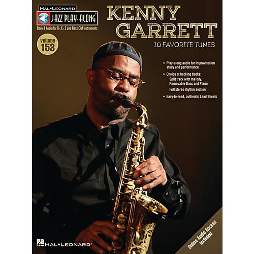 Hal Leonard Kenny Garrett (Jazz Play-Along Volume 153) Jazz Play Along Series Softcover Audio Online by Kenny Garrett thumbnail
