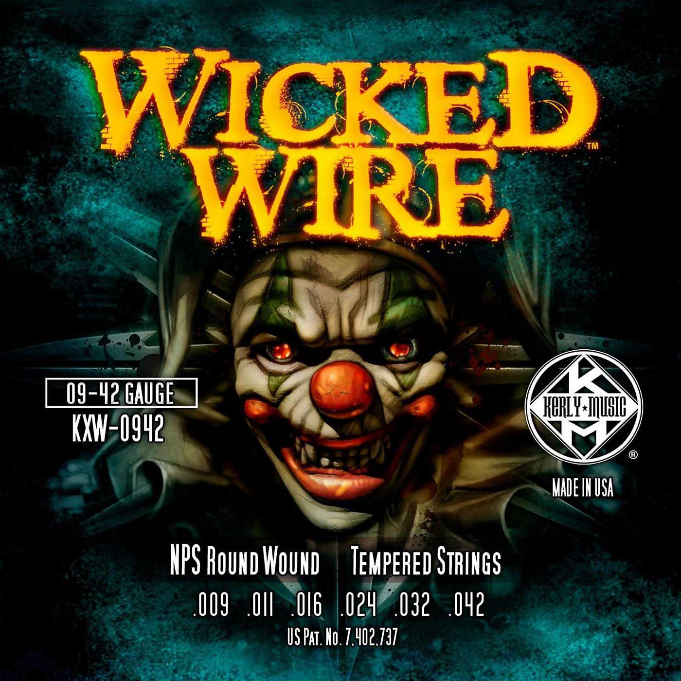 Kerly Music Kerly Wicked Wire NPS Electric Light 9-42 thumbnail