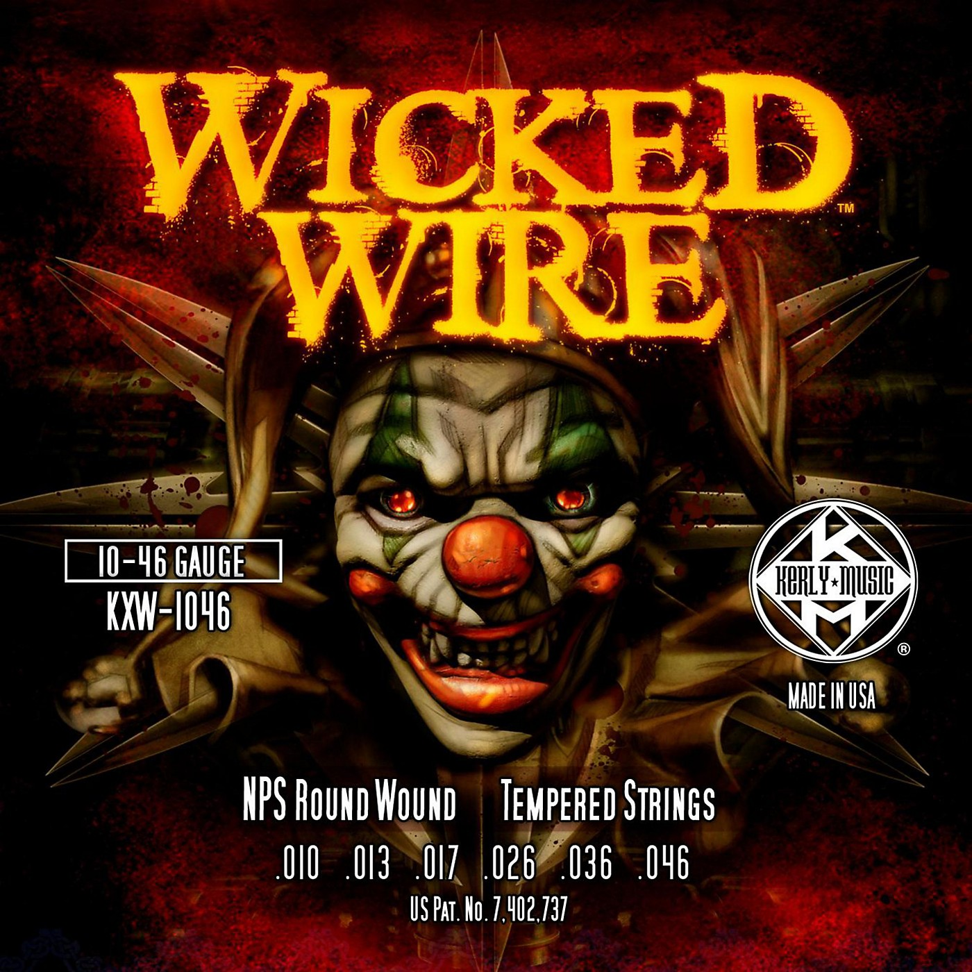 Kerly Music Kerly Wicked Wire NPS Electric Medium 10-46 thumbnail
