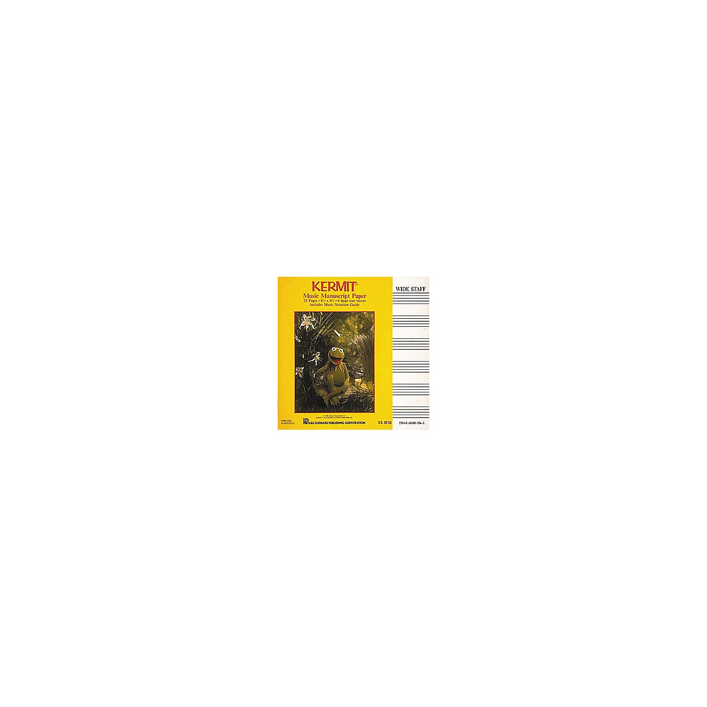 Hal Leonard Kermit The Frog Manuscript Paper Book thumbnail