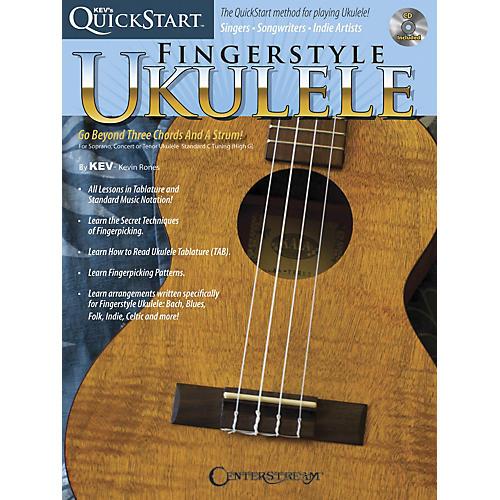 Centerstream Publishing Kev's Quickstart For Fingerstyle Ukulele Book/CD thumbnail