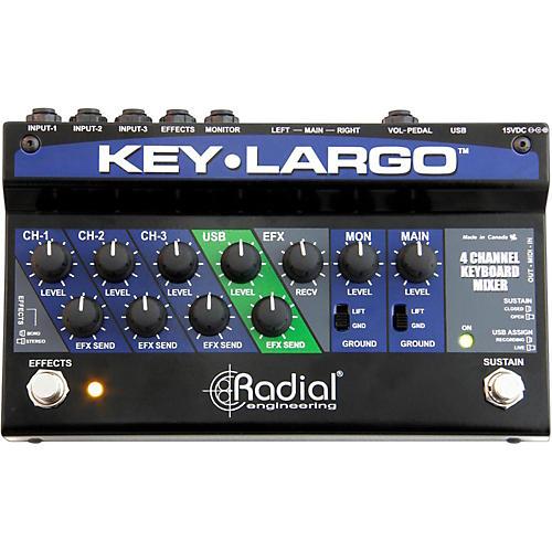Radial Engineering Key-Largo Keyboard Mixer and Performance Pedal thumbnail