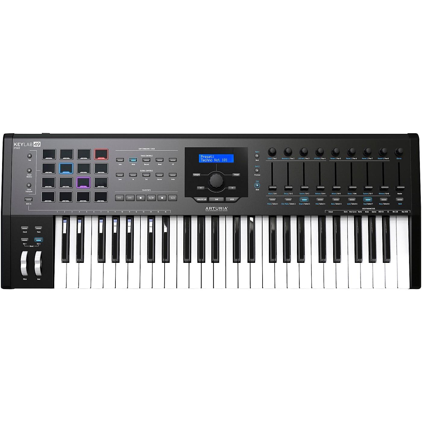 Arturia KeyLab 49 MKII Keyboard Controller thumbnail