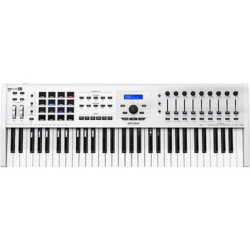 Arturia KeyLab 61 MKII Keyboard Controller White thumbnail