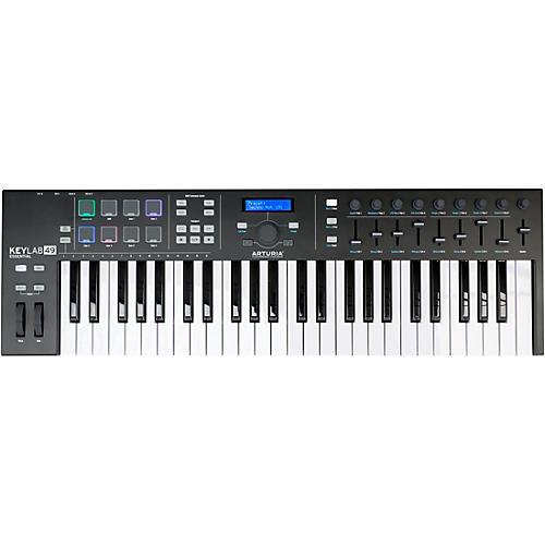 Arturia KeyLab Essential 49 Black Edition Keyboard Controller thumbnail
