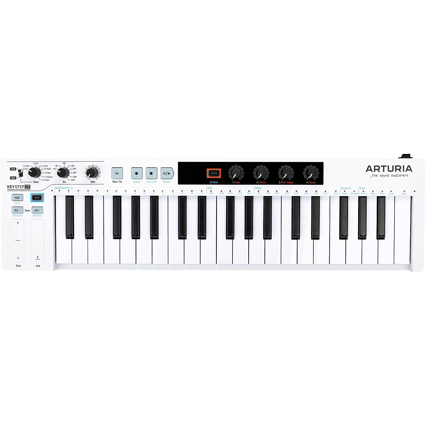 Arturia KeyStep 37 Controller and Sequencer thumbnail