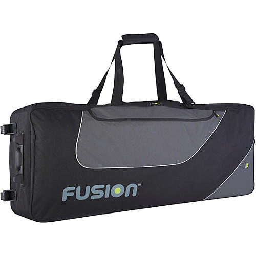 Fusion Keyboard 12 Gig Bag with Wheels (76-88 Keys) thumbnail