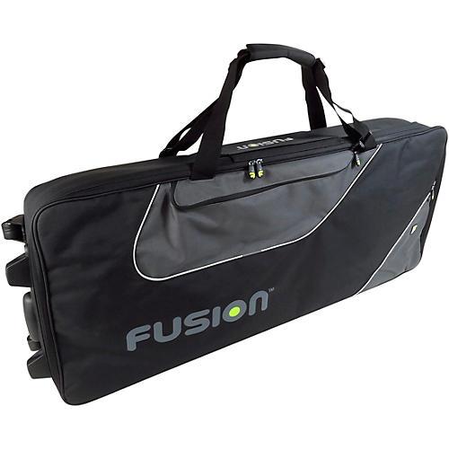 Fusion Keyboard 15 Gig Bag with Wheels (76-88 Keys) thumbnail