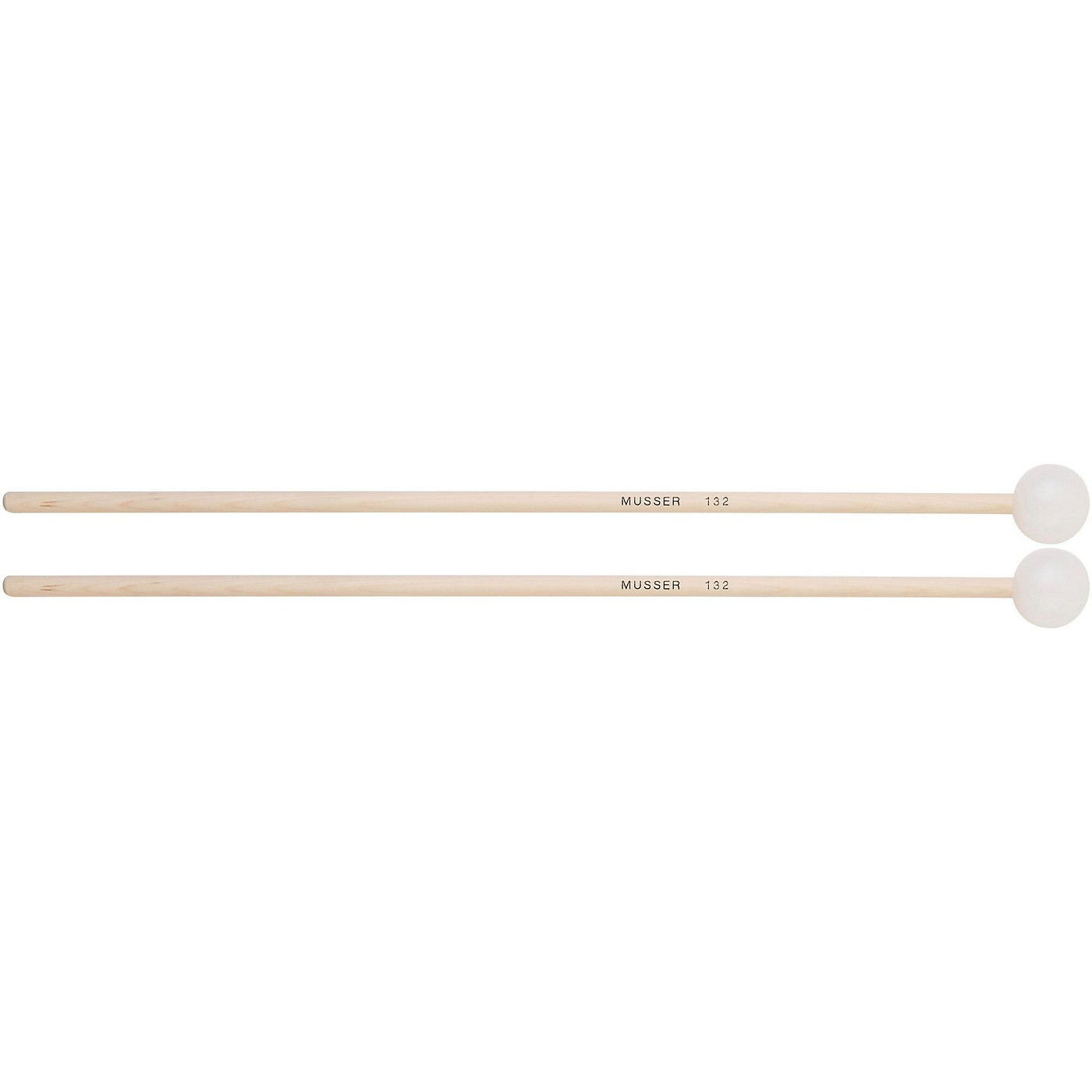 Musser Keyboard Hard Bell Mallets with Birch Handle - MUS132 thumbnail