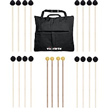 Vic Firth Keyboard Mallet 10-Pack w/ Free Mallet Bag