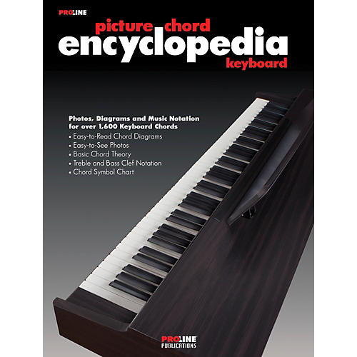 Proline Keyboard Picture Chord Encyclopedia Book thumbnail