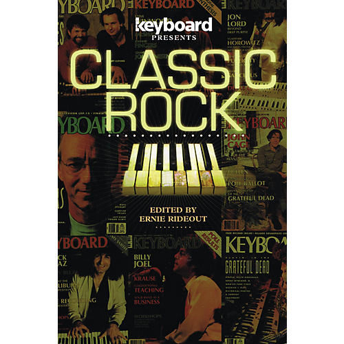 Backbeat Books Keyboard Presents: Classic Rock Keyboard Presents Series Softcover thumbnail
