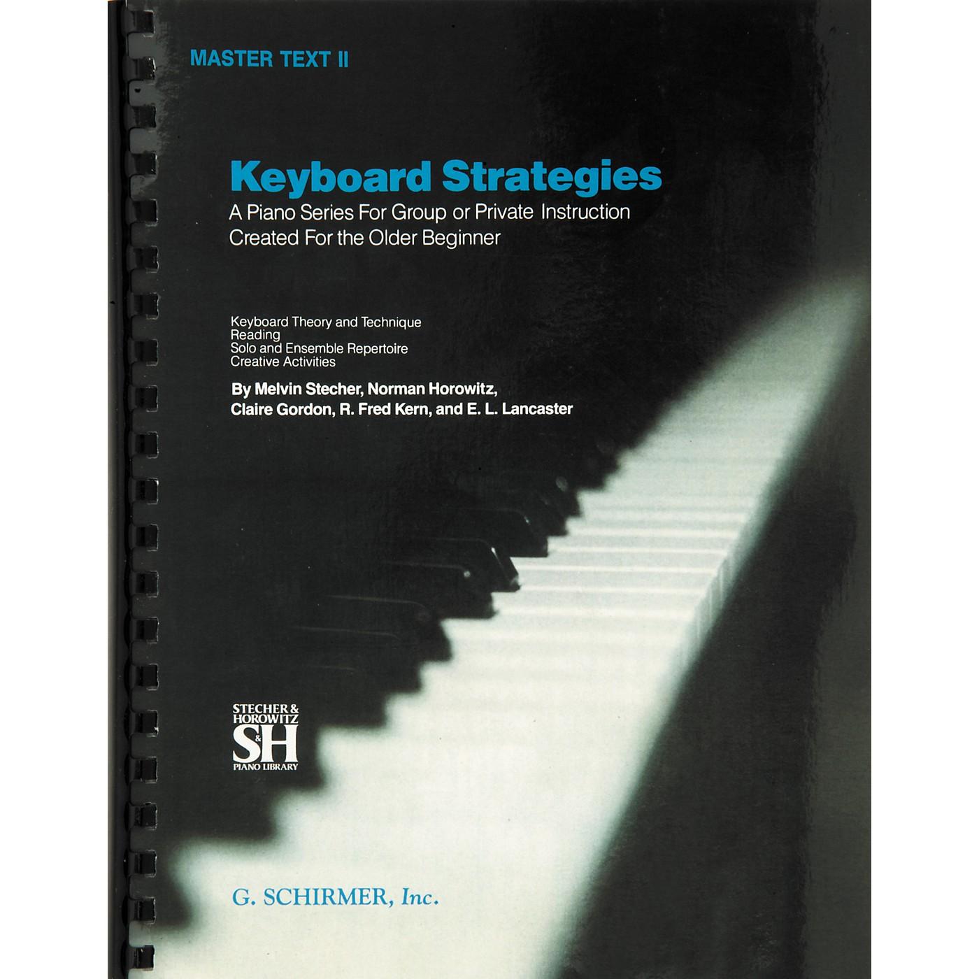 Music Sales Keyboard Strategies Master Text 2 thumbnail