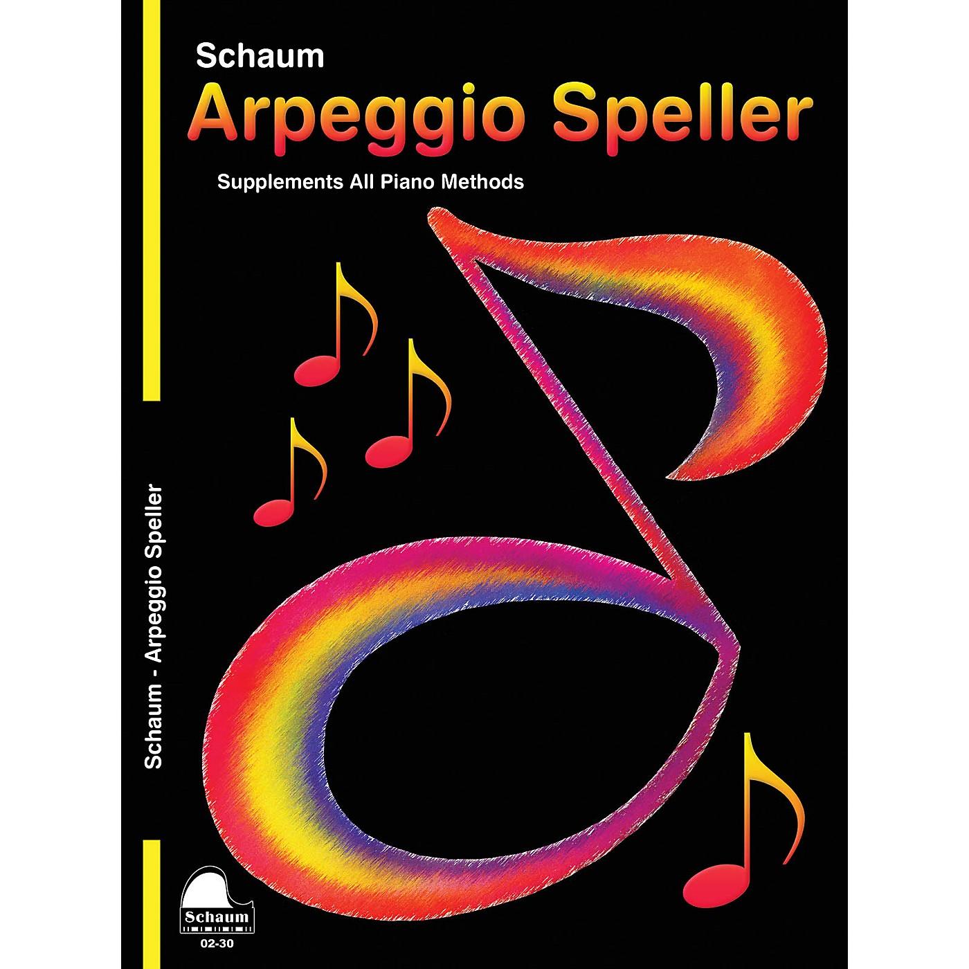 SCHAUM Keynote Arpeggio Speller Educational Piano Series Softcover thumbnail